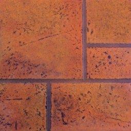 Плитка для пола Сокол Китай-город PLВ коричневая матовая 33х33