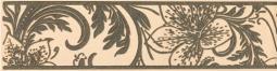 Бордюр Береза-керамика Богема ампир Фриз бежевый 25х6.5