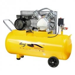 Компрессор Denzel PC 2/100-370, 370 л/мин
