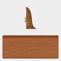 Заглушка торцевая левая (блистер 4 шт.) Т-пласт 047 Вишня Натуральная