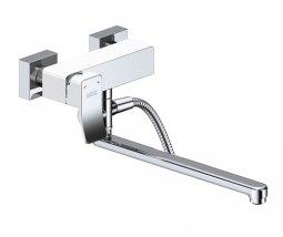 Смеситель для ванны Wasser Kraft Aller 1062L White