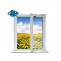 Окно ПВХ Veka 600х600 мм одностворчатое П 2 стеклопакет