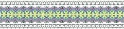 Бордюр Kerama Marazzi Ранголи STG\A123\11000T 30х7,2 орнамент