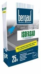 Клеевая смесь Bergauf Isofasad для крепления пенополистерольных и минераловатных плит 25кг