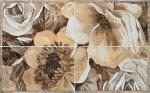 Панно Gracia Ceramica Флоренция 01 светло-бежевое 50х80