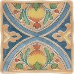 Декор Opoczno Viking Cottage Orange 2 темно-бежевый 10х10