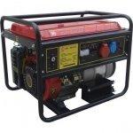 Генератор бензиновый Калибр БЭГ-5500 А-2 5000/5500 Вт ручной/электрический запуск