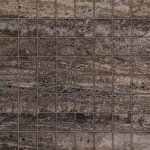 Мозаика Kerranova Terra полированный темно-серый 30x30