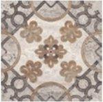 Декор Kerranova Terra полированный светло-серый 60x60