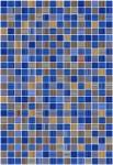 Плитка для стен Керамин Гламур 2Т Синий 40x27,5