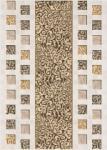 Декор Береза-керамика Квадро белый 25х35
