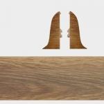 Заглушка левая и правая Т-Пласт 136 Дуб Галлийский 58мм (2шт)