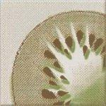 Декор Opoczno Inwencja kiwi многоцветный 10х10
