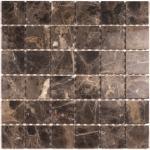 Мозаика Bonаparte Granada-48 коричневая полированная 30.5х30.5