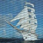 Панно Kerama Marazzi Майори Корабль ALD\A01\3x\13025R 90х90 обрезной