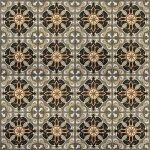 Плитка для пола Сокол Баден-Баден BDN6 орнамент полуматовая 44х44