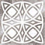 Панно Kerranova Black&White полированный серый 120x120