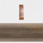 Соединитель Т-Пласт 109 Дуб темный 58мм (2шт)