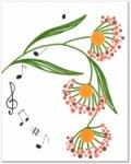 Декор Цветочек ФА Kerama Marazzi Нотки NT\A50\200 20х25