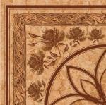 Бордюр Golden Tile Каменный цветок бежевый  Г71740 300х300