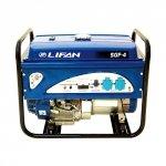Генератор бензиновый Lifan 5GF-4 5000/5500 Вт ручной/электрический запуск