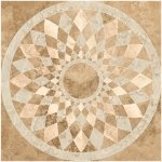Панно Kerranova Shakespeare матовый бежево-коричневый 120x120
