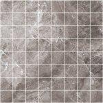 Мозаика Kerranova Black&White полированный серый 30x30