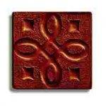 Декор Freelite Стеклянные вставки для пола Давос Шоколад 6x6