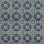 Плитка для пола Сокол Баден-Баден BDN8 орнамент полуматовая 44х44