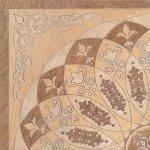 Декор Kerama Marazzi Монтаньоне 1/4 розона HGD\A37\TU0031L 42х42 беж лаппатированный
