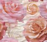 Панно Cersanit Wave roses WA2F452DT Розовый 40X44