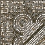 Керамогранит Lasselsberger Гарден глазурованный орнамент серый 30х30