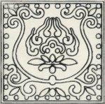 Декор Kerama Marazzi Орисса A1858\1251 9.9х9.9