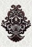 Декор Керамин Органза 5 Чёрный 40x27,5