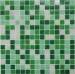 Мозаика Bonаparte Jasmin зеленая матовая 32.7х32.7