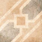 Декор Grasaro Tivoli Серый GT-242/t04 95x95